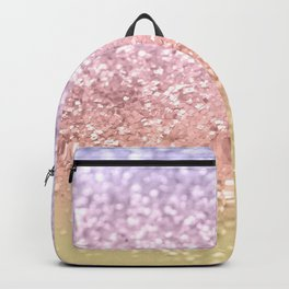 Summer Unicorn Girls Glitter #1 #shiny #pastel #decor #art #society6 Backpack