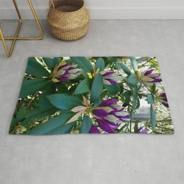 Rhododendrons Ready to Bloom Rug