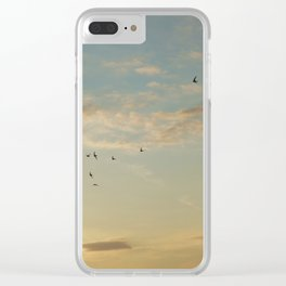 In Flight #7 Clear iPhone Case