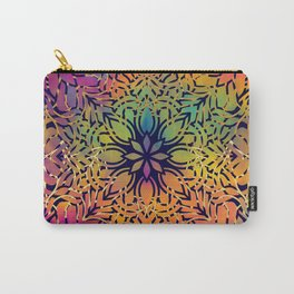 Bohemian 1960's Mandala Pattern of Freedom Carry-All Pouch