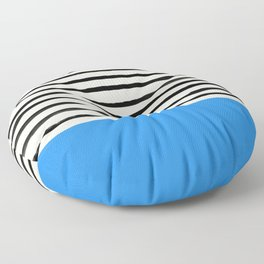 Ocean x Stripes Floor Pillow