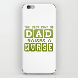 Dad's Nurse iPhone Skin