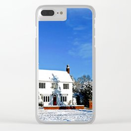 Wondrous Winter Clear iPhone Case