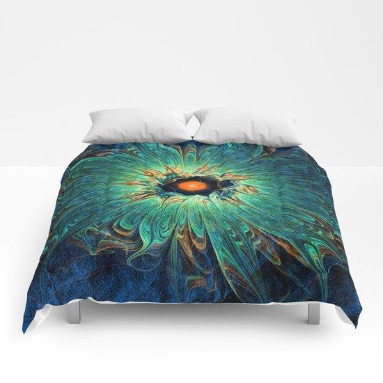 Green Piece Comforters