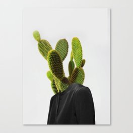 Cactus Woman 1 Canvas Print