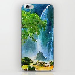 Happy place iPhone Skin