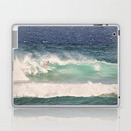 NEVER STOP EXPLORING - SURFING HAWAII Laptop & iPad Skin