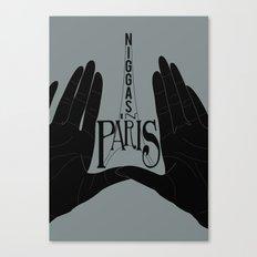 Niggas In Paris Canvas Print