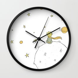 Little Prince III Wall Clock