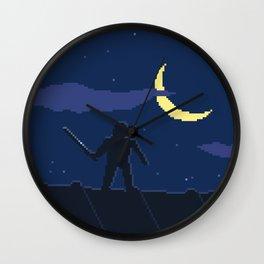 Pixel Assassin Wall Clock