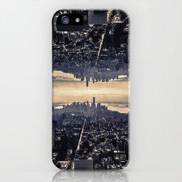 Upside Manhattan iPhone Case