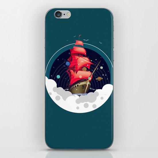 Spaceship iPhone Skin