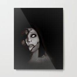 Even Angels Fall Metal Print