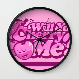 CHERRY ME! Wall Clock