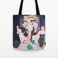 Sailor Mucha Tote Bag