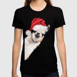 Christmas Sneaky Llama T-shirt