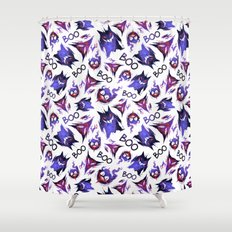 Ghostly Trio Shower Curtain
