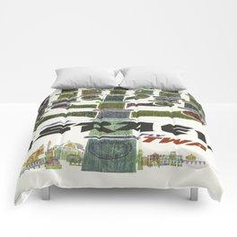Vintage poster - Israel Comforters