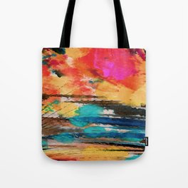 Art Abstraction 1J by Kathy Morton Stanion Tote Bag