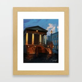 Charleston City Market Framed Art Print