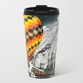 braies lake in Trentino Travel Mug