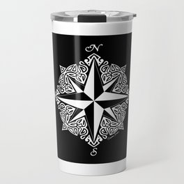 Cindy's Tribal Compass Rose Travel Mug