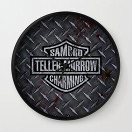 SAMCRO Teller-Morrow of Charming (Sons of Anarchy / Harley-Davidson) Wall Clock