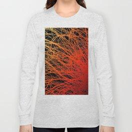 Linear Explosion - Sunset Long Sleeve T-shirt