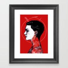 For Valerie Framed Art Print