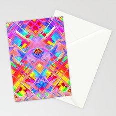 Colorful digital art splashing G470 Stationery Cards