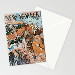The New Yorker Vintage Cover // 2 Stationery Cards