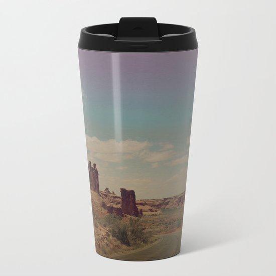 Utah Exploring Metal Travel Mug