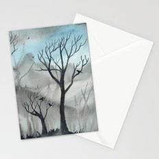 Ghost Trees Stationery Cards