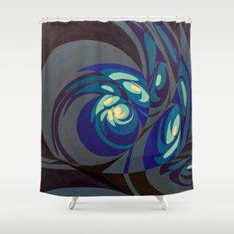 """West (""""Elementals"""" series) Shower Curtain"""