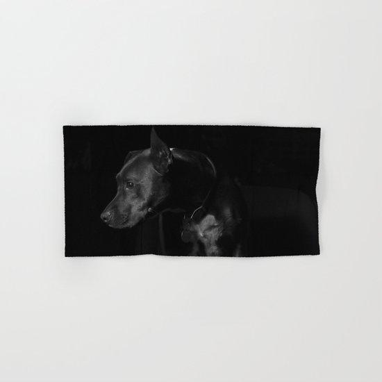 The black dog 7 Hand & Bath Towel