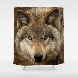 Undivided attention Shower Curtain