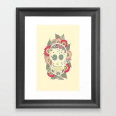 ColoredSkull Framed Art Print