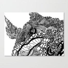 Whale #1 Canvas Print