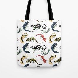 Salamanders Tote Bag