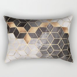 Smoky Cubes Rectangular Pillow