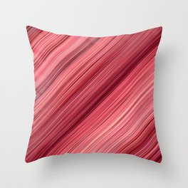 Ambient 33 in Red Throw Pillow