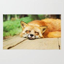 Cutie Foxy Nappy Rug