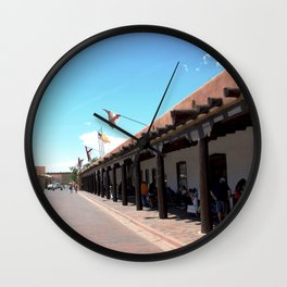 Santa Fe Old Town Square, No. 4 of 7 Wall Clock