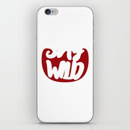 Wild West Collectible Stay Wild Wild West Collection iPhone Skin