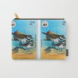 Killdeer Bird Carry-All Pouch
