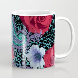 Rose Paisley w skin Coffee Mug