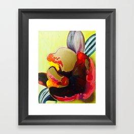 Burn The Flowers For Fuel Framed Art Print