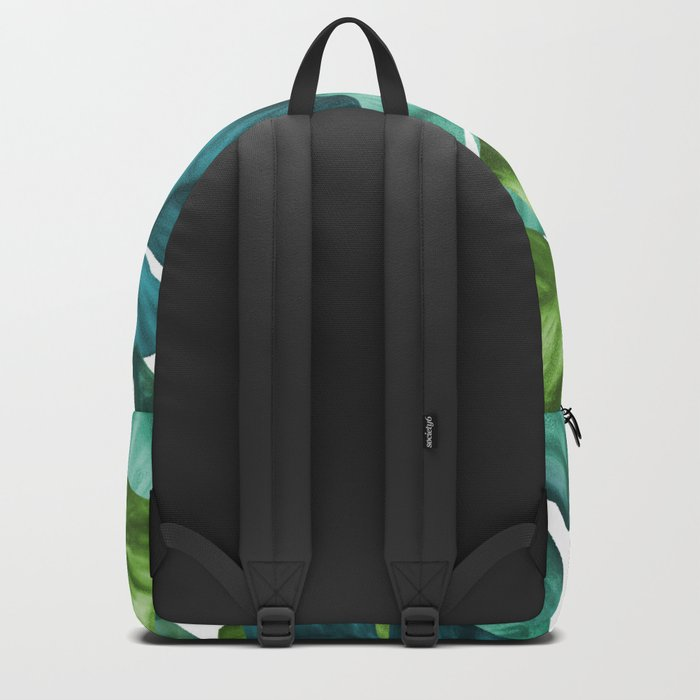 Tropical Banana Leaves Unique Pattern Backpack