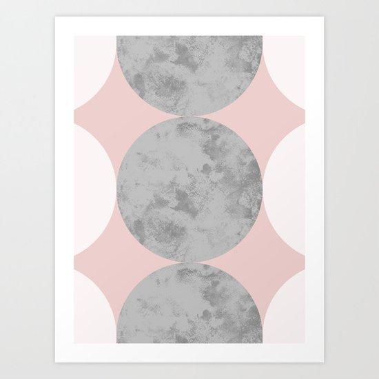 circles // pattern Art Print
