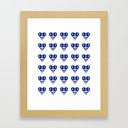 Flag of quebec 4– Canada, montreal,Saint Laurent,Quebecois,belle province, trois rivières. Framed Art Print